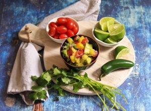 Tropical Pico De Gallo Ingredients