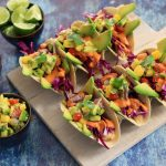 Vegan Tropical Fish Tacos