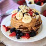 Fully Loaded Vegan Protein Pancakes