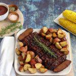Vegan BBQ Ribs